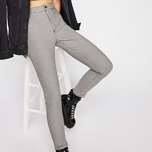 Free People Houndstooth Pants